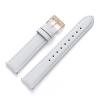 16 mm Uhrenarmband Leder Weiß CH