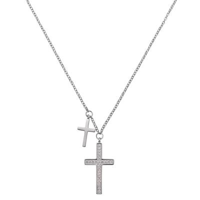 Damenkette Double Cross