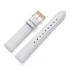 18 mm Uhrenarmband Leder Weiß RG