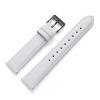 18 mm Uhrenarmband Leder Weiß GM
