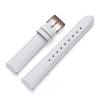 18 mm Uhrenarmband Leder Weiß MO