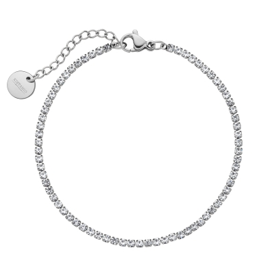 Kistanio Damen Armband Shining Brilliants Silberfarben KIS-BRA-SHIBR-SI